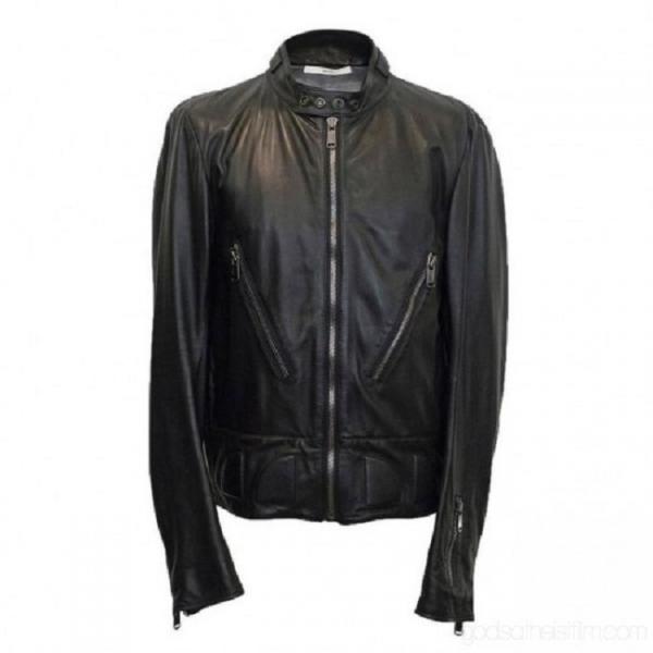 Saint Laurent Leather Jacket Sale