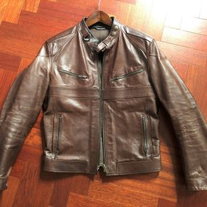 Vintage Gucci Leather Jacket