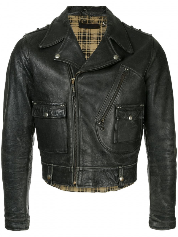 Vintage Harley Davidson Leather Jacket For Sale