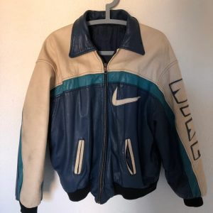 Vintage Nike Leather Jacket