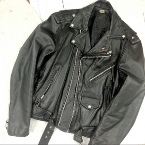 Vintage Punk Leather Jacket