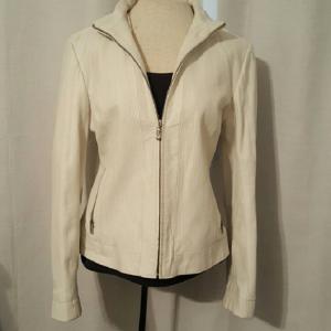 Wilson White Leathers Jacket