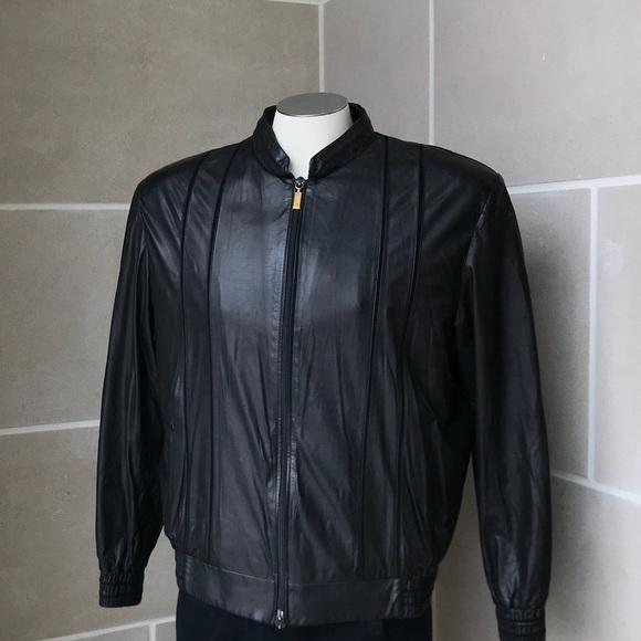 Zilli Leather Jacket