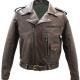 D Pocket Leather Jacket
