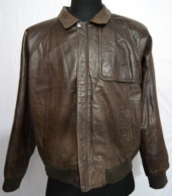 Express Flight Cowhide Leather Jacket