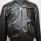 Jos A Bank Black Leather Jacket