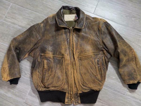 Leather Jacket Patina