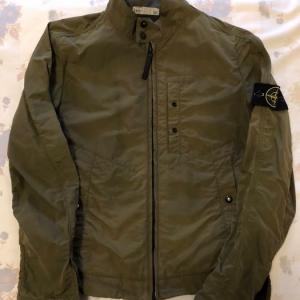 Stone Island Leather Jacket