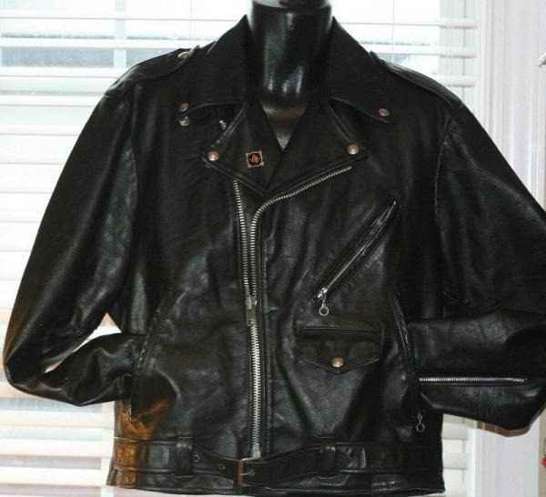 Vintage Sears Leather Jacket