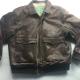 Aeropostales Leather Jacket Mens