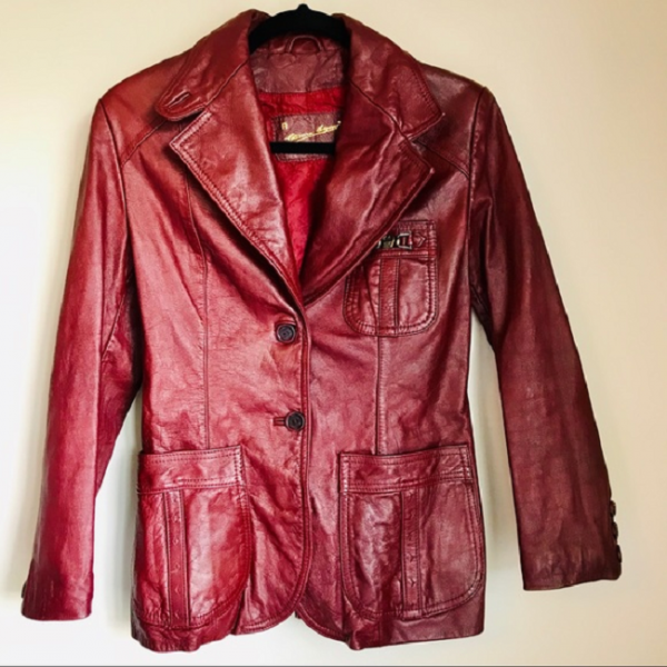 Aigner Leather Jacket