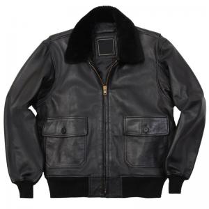 Alpha G 1 Leather Jacket