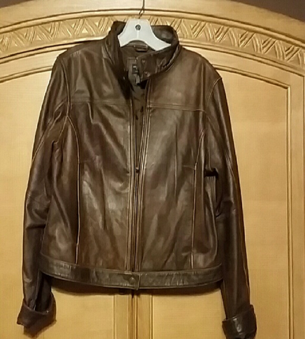 American Eagle Brown Leather Jacket