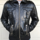 Andys Warhol Leather Jacket
