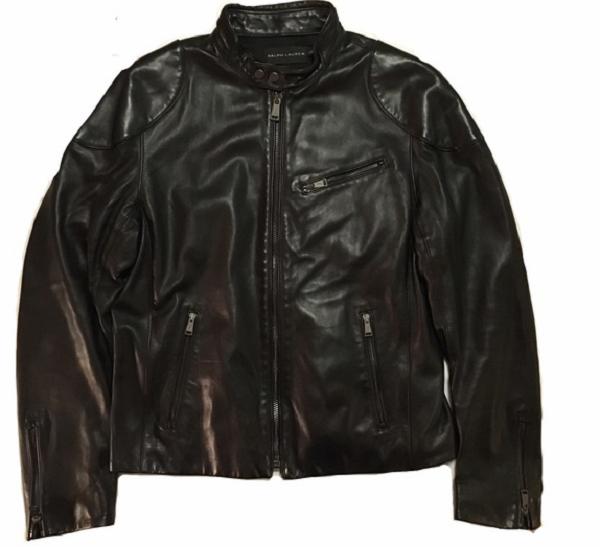Black Label Leather Jacket