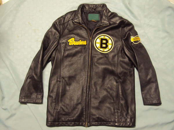 Boston Bruins Leather Jacket