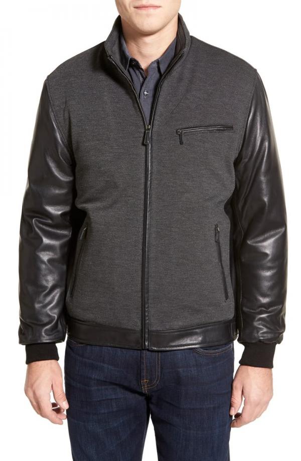 Bugatchi Leather Jacket