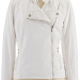 Calvin Klein White Leather Jacket