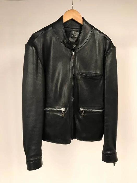 Chrome Leather Jacket