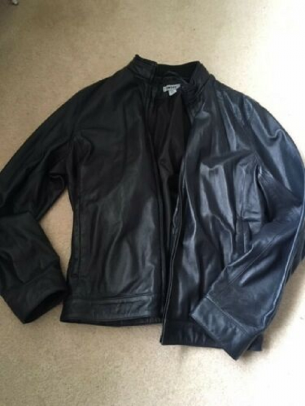 Dkny Lamb Leather Jackets