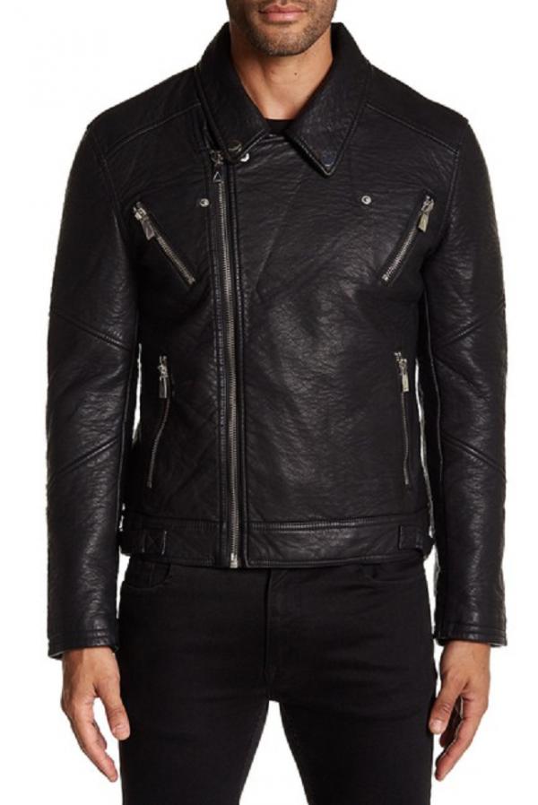 Elevens Paris Leather Jacket