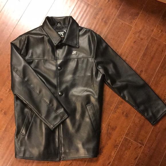 Emporio Armani Collezioni Leather Jacket