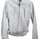 Express White Leather Jacket