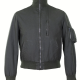 Helmut Lang High Collar Leather Jacket