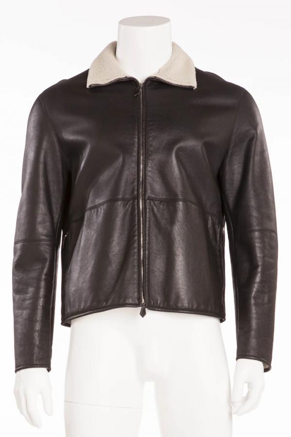 Hermes Leather Jacket Mens