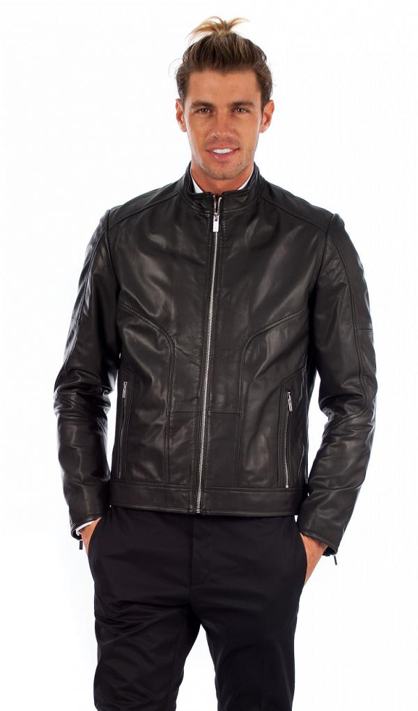 Hugo Leather Jacket