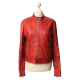 Jet Leather Jacket