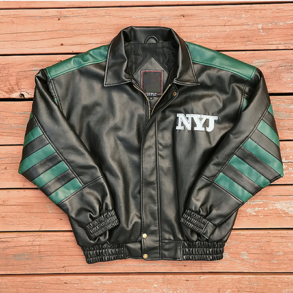 Jets Leather Jacket