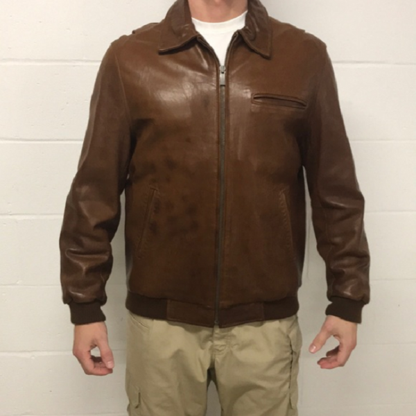 Johnston And Murphy Leather Jacket