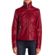 Kenneth Cole Reds Leather Jacket