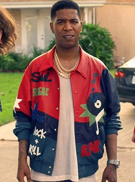 Kid Cudi Bill & Ted Face Leather Jacket