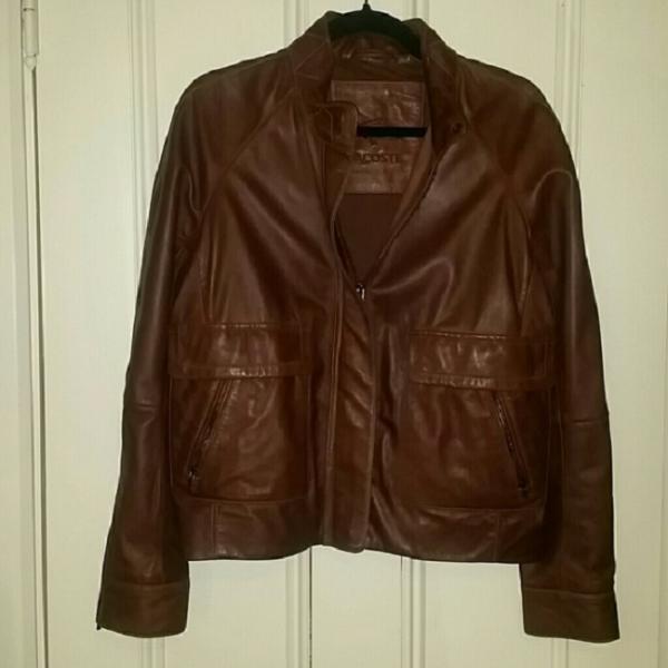 Lacoste Leather Jacket