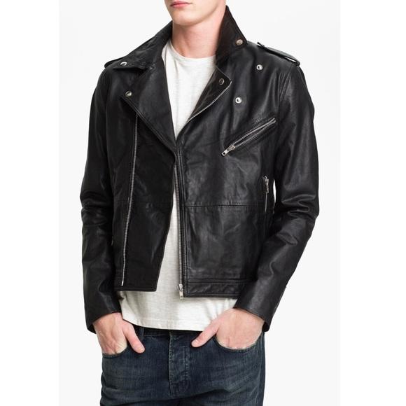 Leather Jacket Topman