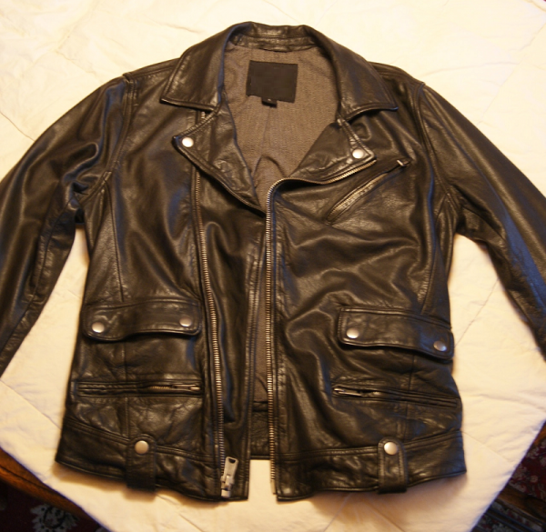 Lucky Brand Black Label Leather Jacket