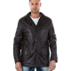 Mink Leather Jacket