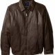 Nautica Browns Leather Jacket