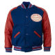 New York Giants Varsity Leather Jacket