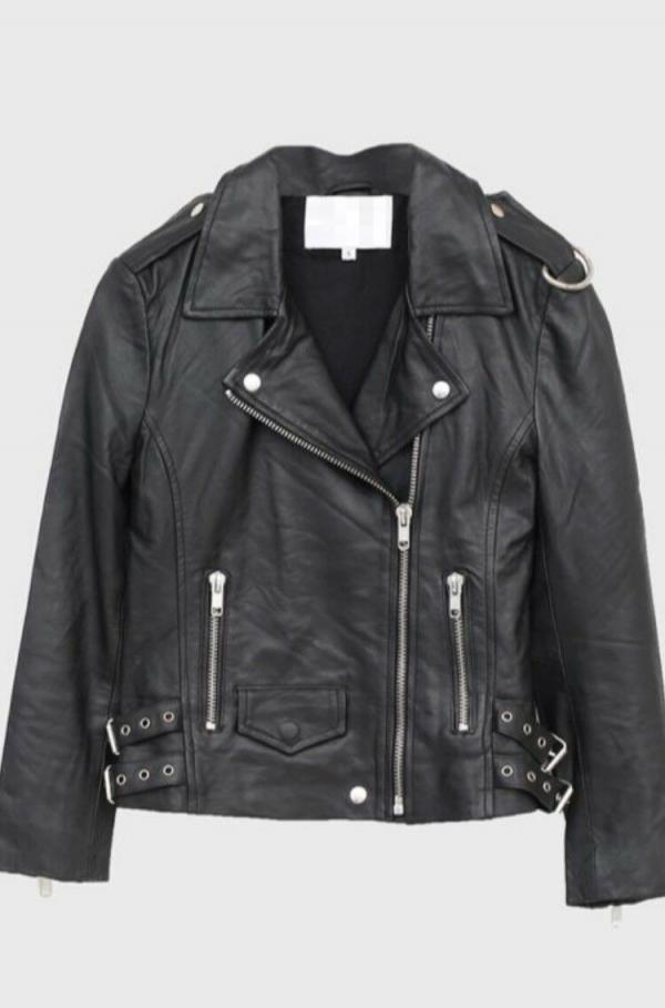 Oak Nyc Leather Jacket