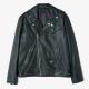 Obey Black Leather Jacket