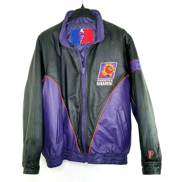 Phoenix Suns Leather Jacket