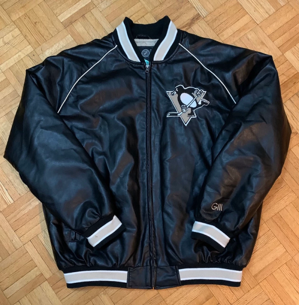 Pittsburgh Penguins Leather Jacket