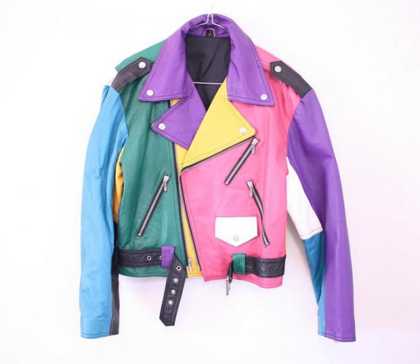 Rainbow Leather Jacket