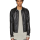 Rick Owens Blistered Leather Jacket