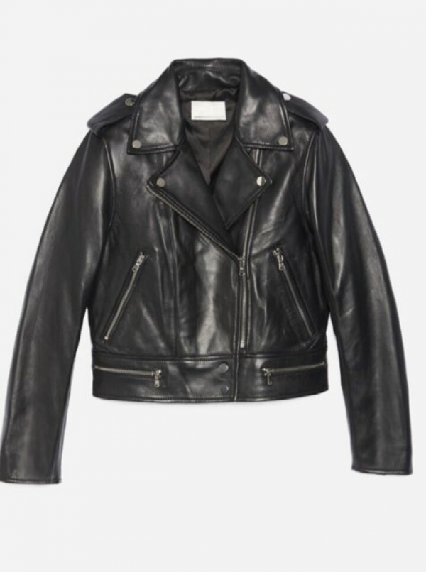 Sandro Paris Leather Jackets