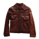 Saxony Collection Leather Jacket