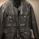 Sisley Leather Jacket.